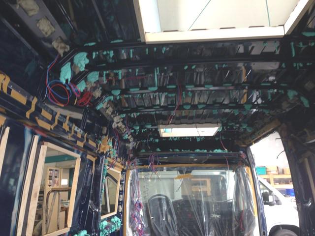Kastenwagen Campingbus Ausbau Innenausbau Isolierung Wohnmobil